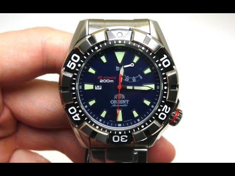 Orient m force divers men 39 s watch review model sel03001d0 for Orient mobel