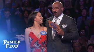 BOOM! Brown's DESTROY Fast Money! | Family Feud