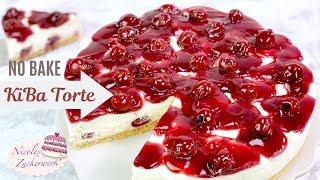 KIBA 🍒🍌 das leckere Kultgetränk in einer Torte I cremig-fruchtige NO BAKE Torte I Nicoles Zuckerwerk