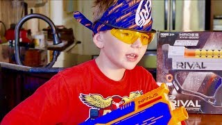 Nerf War: Brother vs Brother Election day off