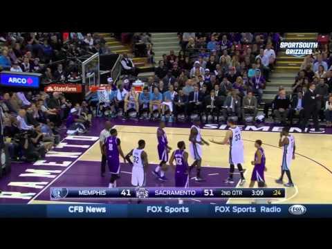 DeMarcus Cousins & Zach Randolph FIGHT | Grizzlies vs Kings | Feb 23, 2015 | NBA 2014-15 Season