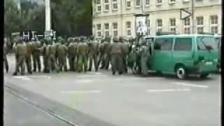 Antifa Leipzig - Desaster Area - 1.9.2001 - 1v2 - Riots