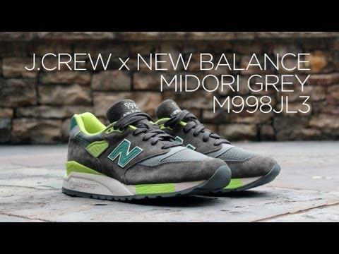 new product f3bd4 93fea Review: J.Crew x New Balance 998 - Midori Grey