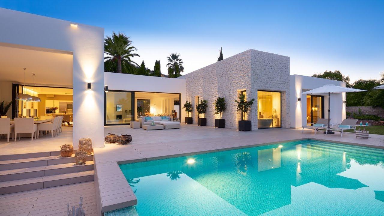 New Modern Villa In Las Brisas Marbella Spain Youtube