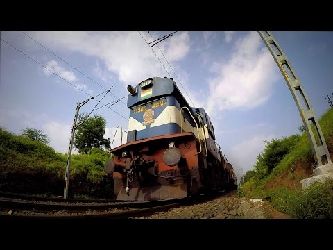 Post Electrification: Diesel Actions on Pune-Daund Section on Day1