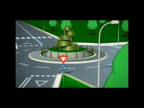 Lezione di Guida AUTO - LA ROTATORIA: Come affrontarla correttamente.
