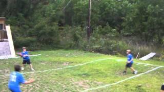 Blythewood Backyard Football League: Game #2 (first half)