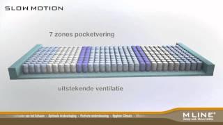 M line - Uitleg werking en opbouw van Slow Motion matrassen - door Doove Healthy Living