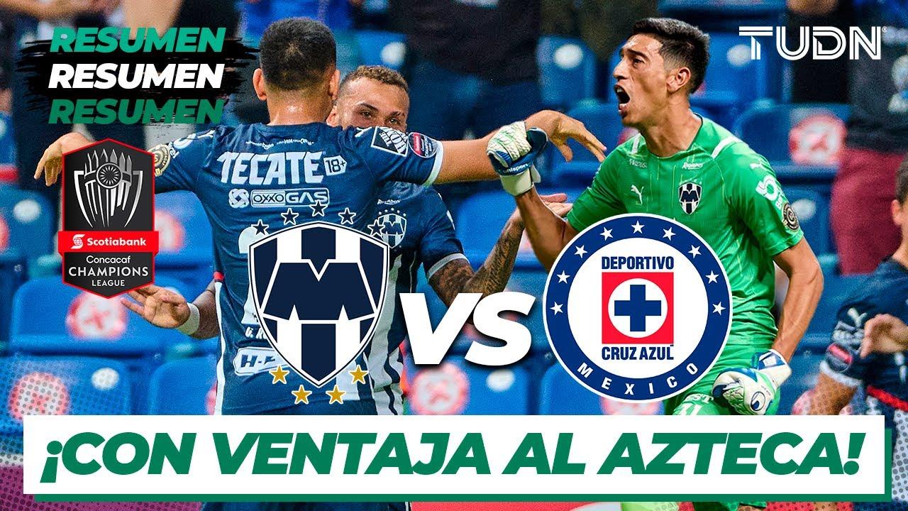 1-4. El Monterrey golea al Cruz Azul y pasa a la final de la Liga de ...