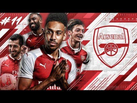 FIFA 18 Arsenal Career Mode #11 - RAAAGE! ARSENAL vs MANCHESTER UNITED!