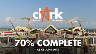 Clark International Airport New Passenger Terminal: 70% Complete!