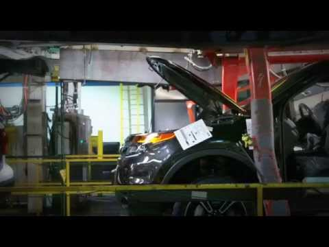2015 Ford Chicago Assembly Plant - Raw Footage