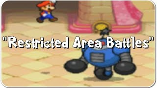 Mario & Luigi: Bowser's Inside Story - Restricted Area Battles