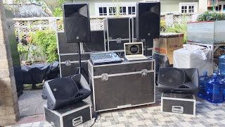 How to setup powered speakers and powered monitor speakers by SDSS pinoy vlog