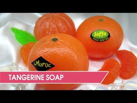 DIY: Tangerine Soap - Citrus Fruits Melt & Pour Soap