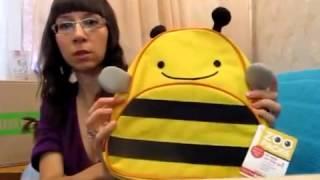 видео детские рюкзаки Skip Hop