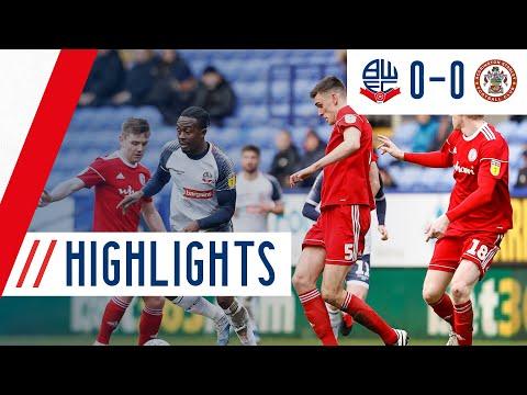 Bolton Accrington Goals And Highlights