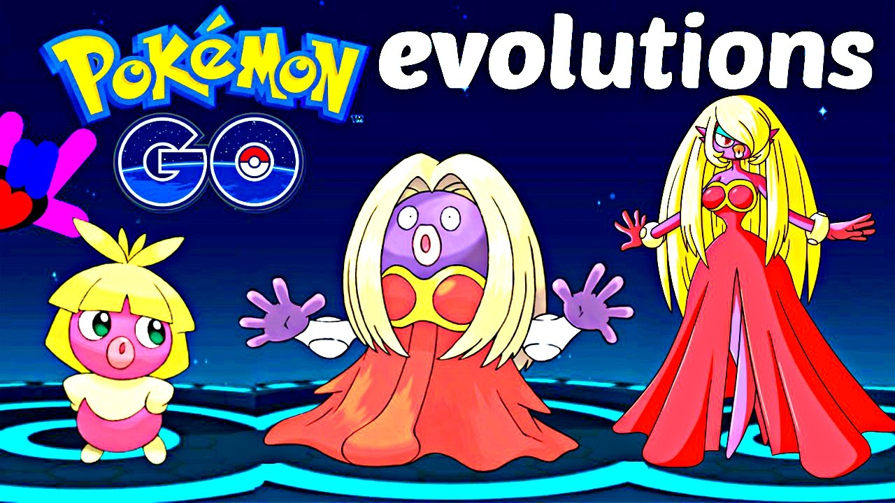 Pokemon Go Gen 2 Evolutions Smoochum Evolution Evolving Jynx