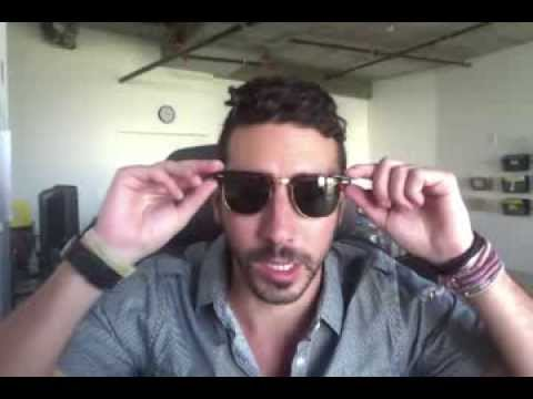 ray ban clubmaster small size  Ray-Ban RB3016 W0366 Clubmasters Tortoise Sunglasses Review - YouTube