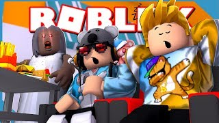 I Went on an Airplane with my Little Nephew And This Happened!! - Roblox Camping Airplane