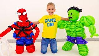 ولاد اور اس کے دوست سپر ہیروز ہیں۔