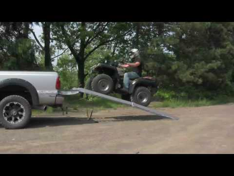 Load ATVs more safely with loading ramps by LongRamps.com