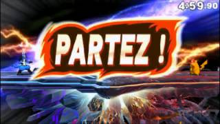 Combat Super Smash Bros 3ds contre New Princy ! (Bug de micro)