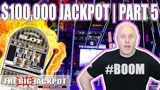 $100,000 JACKPOT PART 5  ✦ Patreon Exclusive ✦  HIGH LIMIT SLOTS | The Big Jackpot