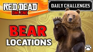 "This video will help you find bear location in red dead online ► enjoyed content? hit 👍 ""like"" for more - thank you! don't forget to click the 🔔 bell ..."