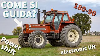 Let's drive Fiatagri 180-90 Turbo DT Power shift (ENG.SUBS) [FHD][GoPro]