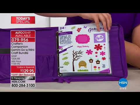 HSN | Crafter's Companion . http://bit.ly/2XkpfUi