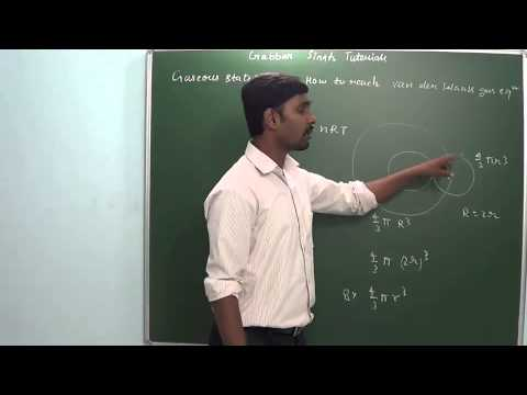 1.5 How to reach van der Walls gas equation ( Gaseous state)