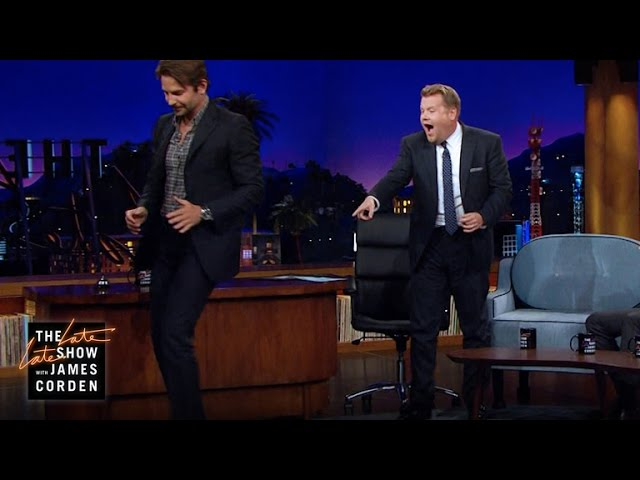 Bradley Cooper Busts Out Some Dance Moves Youtube