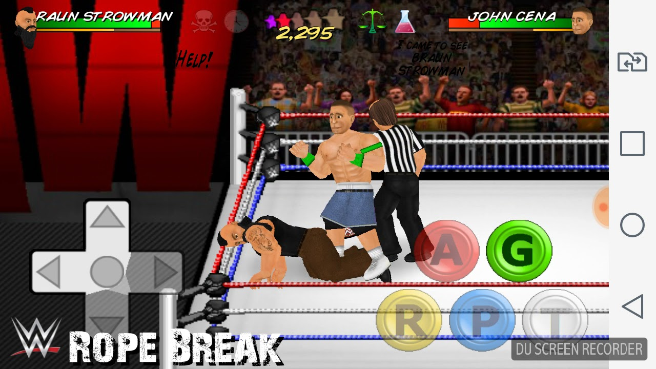Wrestling revolution 2d  2k17 mod!