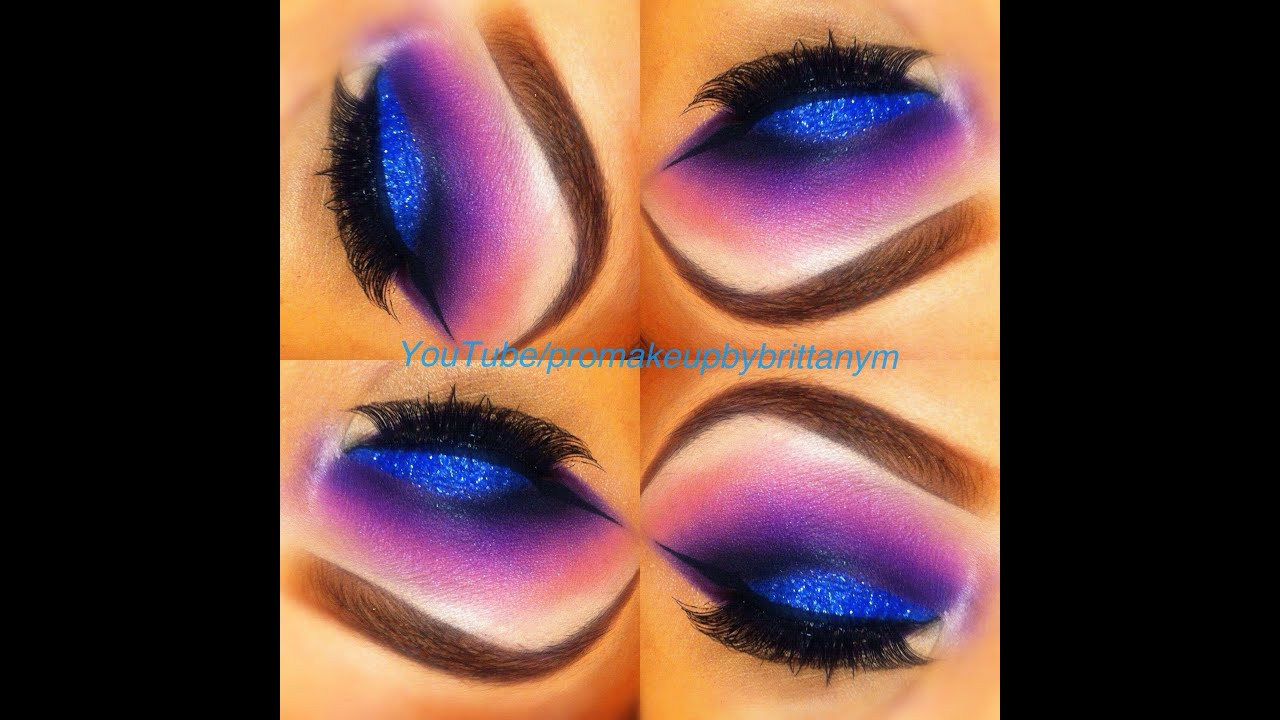 Purple Sugarplum Eyeshadow Tutorial - YouTube Eyeshadow