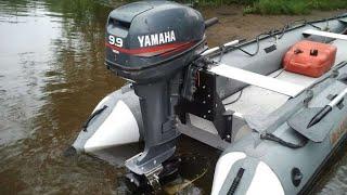 Обзор лодочного мотора Yamaha 9.9 GMHS