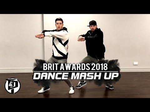 BRIT AWARDS 2018 EPIC DANCE MASH UP!