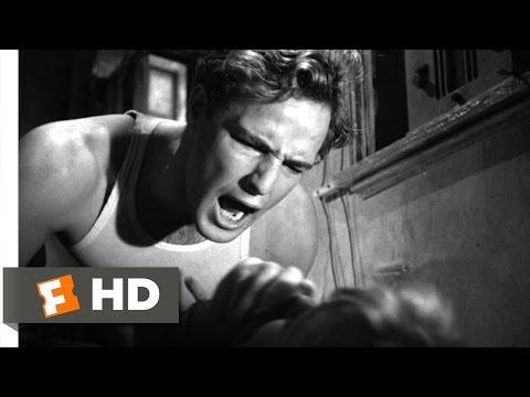 A Streetcar Named Desire (7/8) Movie CLIP - Pearls Before Swine (1951) HD