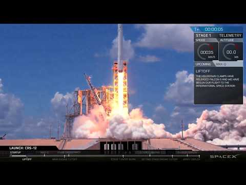 CRS-12 Launch Webcast