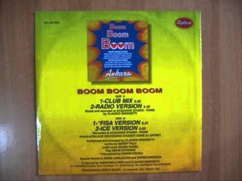 Ankara - Boom Boom Boom 12'' Mix