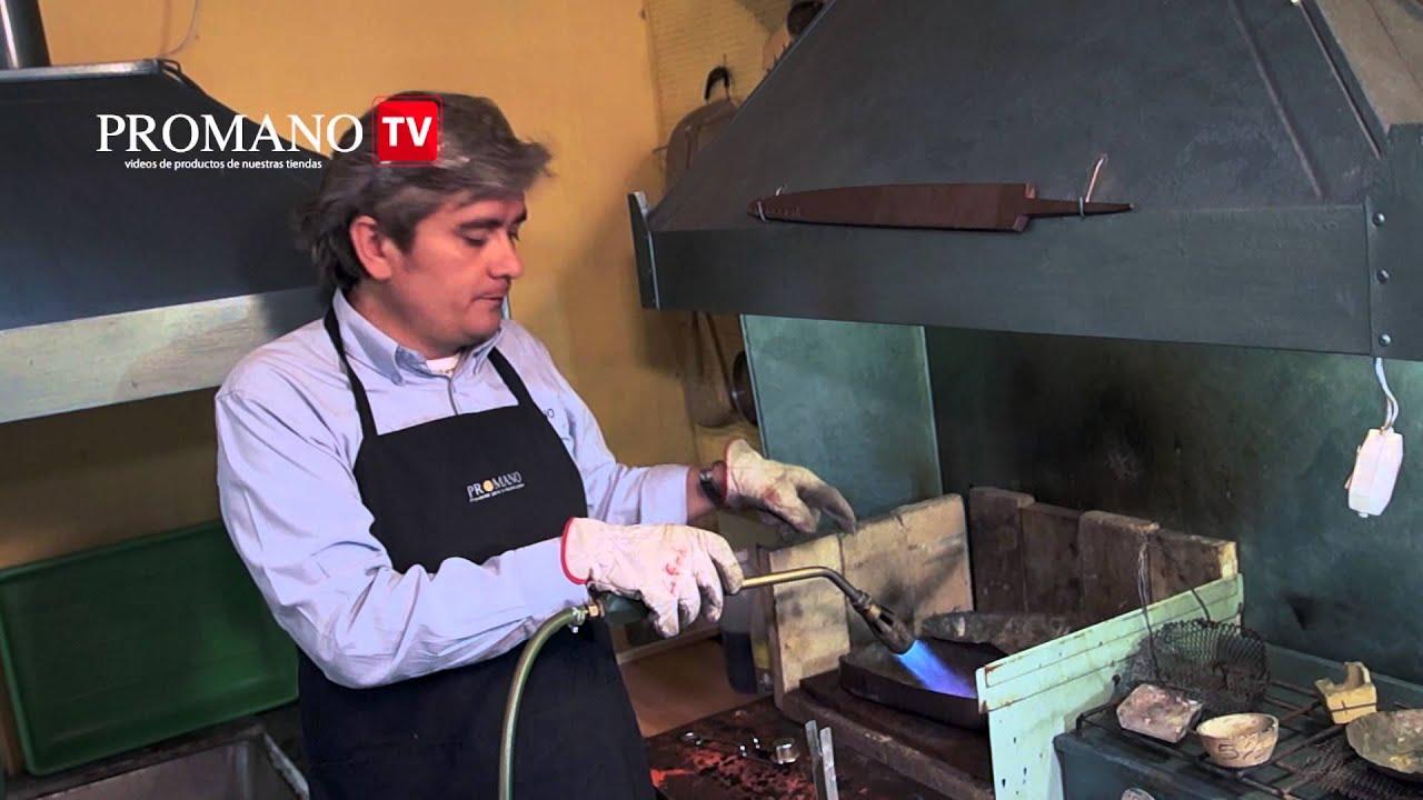 Soplete de fundici n a gas licuado youtube for Estanques de gas licuado