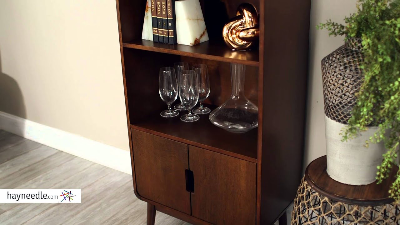 belham living carter mid century modern bookcase product review video