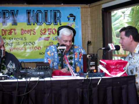 KSSK Morning show Live from Tiki's Grill & Bar - Michael Miller's Interview.