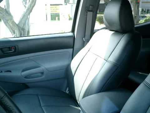 Clazzio Car Seat Cover Installation For Toyota Tacoma