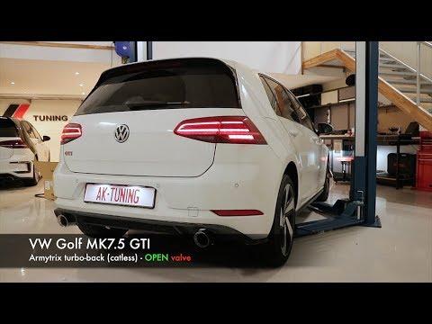 Volkswagen Golf Mk7 Mk7 5 Gti Armytrix Exhaust Aftermarket Mods Best Tuning Review Price 2019