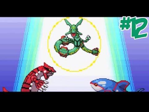 """Pokemon - Emerald #12 ปลุกโปเกม่อนในตำนาน เรควาซ่า """"กลิ่นปากไม่ใช่เรื่องตลก"""""""
