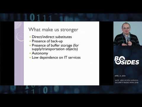 BSIDESKyiv 2018 - Taras Nyzhnyk Understanding critical infrastructure. In real world.