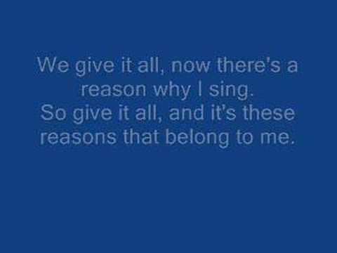 Rise Against - Give It All (with lyrics)
