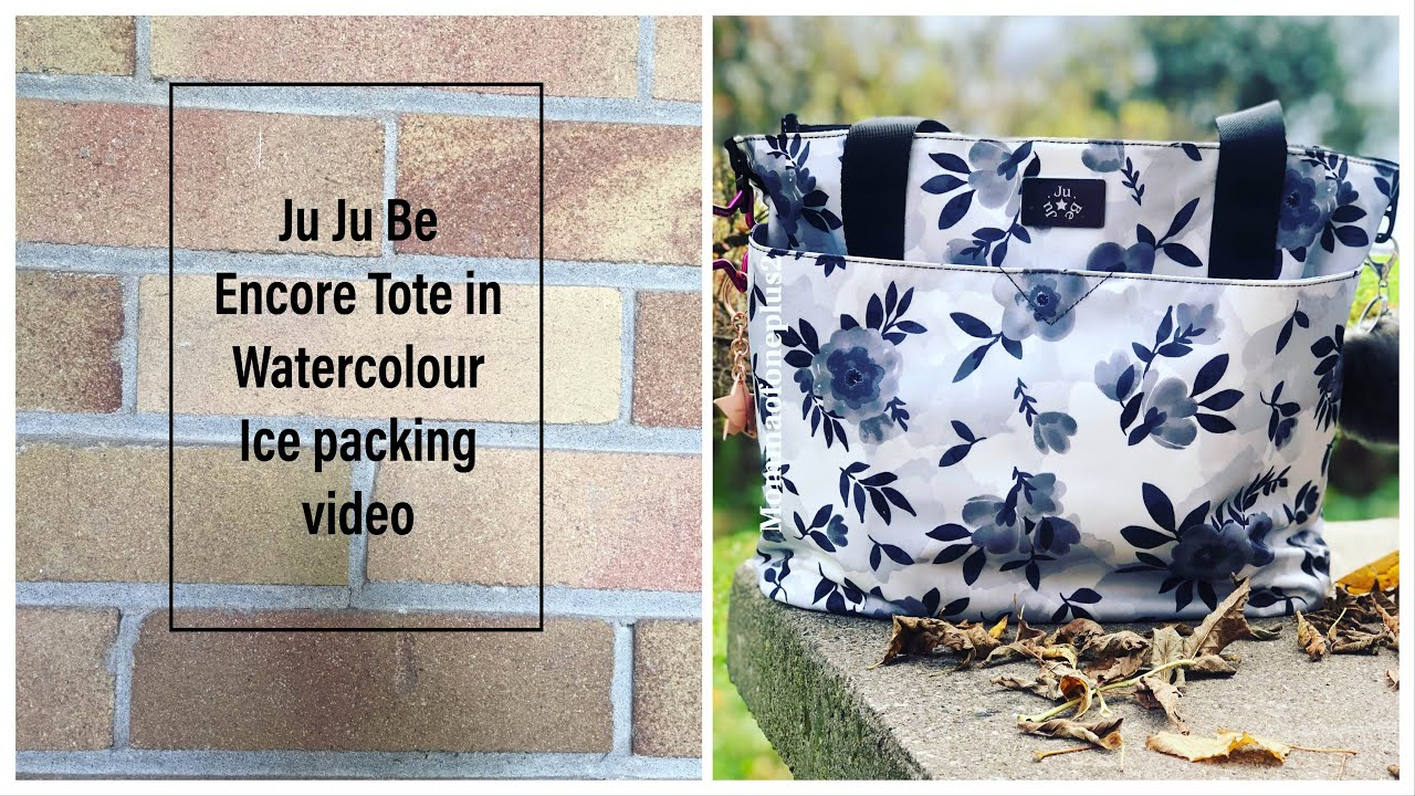 Ju Ju Be Watercolour Ice Encore Tote Packing - YouTube 618e0cf752b57