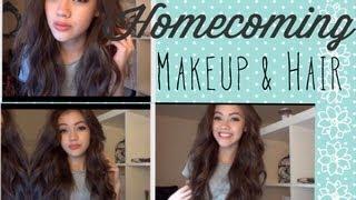 Homecoming Makeup and Hair Thumbnail